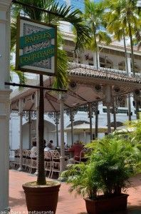 Introducing a fresh cuisine concept at the wonderful outdoor space occupied by the Raffles Courtyard restaurant,  -LRC