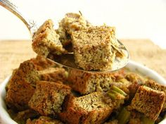 Post image for Rosemary & Sage Bread Stuffing Paleo Style (Grain/Gluten/Dairy/Soy/Corn/Nut/Yeast Free)