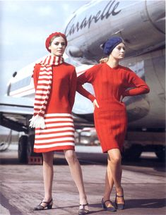 Airline chic.