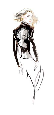 carolineseidler.com fashion illustration via Production Paradise Illustration Artists, Vogue, Paradise, Shopping, News, Fashion, Moda, Fashion Styles, Fasion