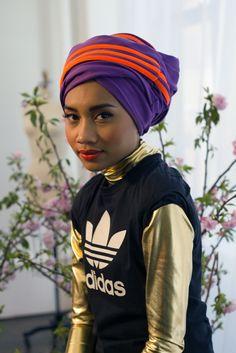 hijabistyletime:  Yunna Zarai, Malaysian singer and songwriter