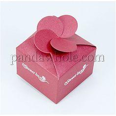 Cardboard Jewelry Boxes, with Organze, DIY, Cardboard: 146x129x0.5mm