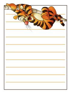 Journal Card - Tigger - bounce - 3x4 photo by pixiesprite