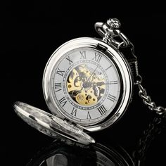 Pacifistor Mechanical Pocket Watch Double Half Hunter Pendant Antique Design Usa