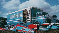 Alpine Renault Transporter by Brimen, via Flickr