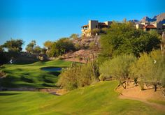 Playing a round of golf at the La Paloma Country Club, in Tucson, Arizona, is both challenging and relaxing. This magnificent 27-hole, private Jack Nicklaus Signature course, one of Jack's original creations, is the perfect spot to refine all aspects of your game!  Visit our website for additional Tucson, Arizona golf courses and more!