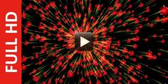 Download new effect ofred christmas ball animated background in black screen and it is created in f...