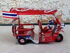 Coca- Cola Tuk Tuk from Thailand/ Check out the fine details in the photos.