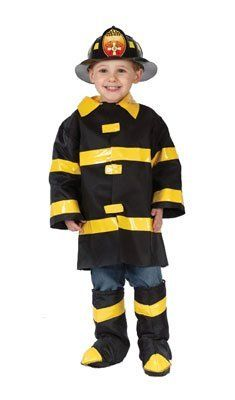 Kids Fire Chief Costume - Toddler . $21.56. .x{color:#83C22D;margin:0px;font-size:12px}.y{color:#A56EBA}KIDS FIRE CHIEF COSTUMEFireman Costumes(Item #PLAY153-T3)Size: Toddler Size 3T-4TIncludesjacket helmet boot tops   Halloween Costumes for Children - This Child Fire Chief Costume includes the fireman costume jacket, boot tops and the helmet.. Save 10% Off!
