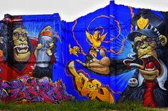 Beyond Banksy Project / Duke 103 - Valencia, Spain. Thanks to Distorsión Urbana!