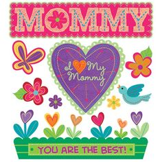 I Love My Mommy Stickers - Jolees Boutique