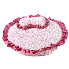 Princess Pink Dog Bed - this is sooo stinkin' cute and frilly....perfect my Roxie loo!!