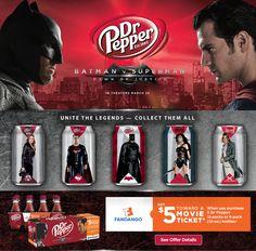 Get $5 towards a movie ticket wyb 3 Dr. Pepper at Walmart.