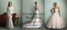 Shop Fabulous Bridal Fashions at LuLu's Allure Trunk Show