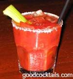 Good Cocktails - Bloody Molly Mixed Drink Recipe