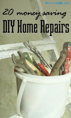 Discover how to do repairs on your own without breaking the bank!