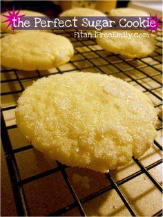 the perfect sugar cookie. secret ingredient is greek yogurt!