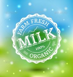 Milk Stamp  #GraphicRiver            Milk Stamp on Colorful background Files in Pack:  Vector Eps 8 – fully editable. You will need a vector editor to use this file (such as Adobe Illustrator, Corel Draw or free Open Source software Inscape)  Hi-res Jpeg file – same as preview  Transparent Hi-res Png file (only stamp) for Photoshop users Used Font:  Mido        Created: 1August13 GraphicsFilesIncluded: TransparentPNG #JPGImage #VectorEPS Layered: Yes MinimumAdobeCSVersion: CS Tags…