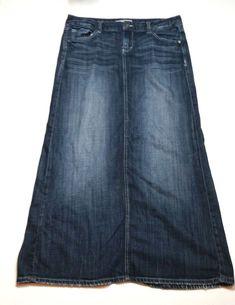 Approximate Slit Length - Stain On The Front Area. Printed Skinny Jeans, Denim Skirts, Junior Outfits, Maxis, Women's Clothing, Middle, Clothes For Women, Woman, Lady