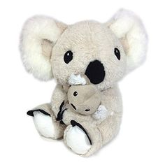 New Cloud B Mama Koala Plush Animal With Soothing Sound For Baby Better Sleep #cloudb