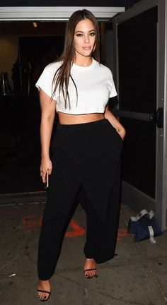 Ashley Graham in xKarla and 11 Honore attends New York Fashion Week. #bestdressed