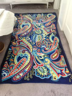 My very Bradley blanket!!! ❤