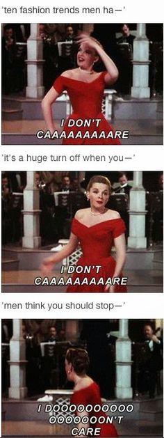Feminist Elizabethan: Feminist Meme: I Don't Care