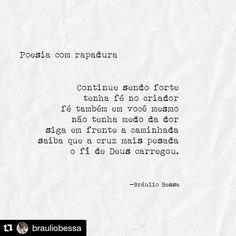 #Poesiacomrapadura Braulio Bessa