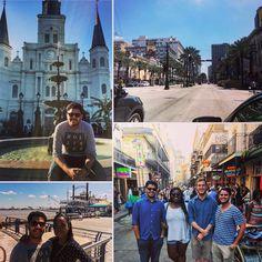 New Orleans  Spring Break 2016 #louisiana #frenchquarter #bourbonstreet #stlouiscathedral #springbreak #2016 #bestfriends #goodtimes by rehan_1996