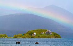 остров с радугой ©Александр Перевозов