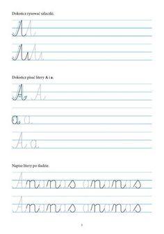 kaligrafia ćwiczenia dla dzieci - Szukaj w Google