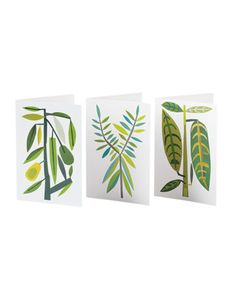Botanical Note Cards