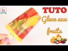 Recette sans sucre de glace à l'eau aux fruits ! Fraise, kiwi, framboises...                                                                                                                                                      Plus