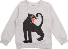 Mini Rodini Panther sweatshirt Heather grey `4/5 years Fabrics : Biological cotton jersey Details : Panther Print, Straight cut, Crew neckline, Long sleeves, Raglan sleeves, Tightened cuffs, Ribbing Fair trade cotton Composition : 100% Organic cotton grow http://www.comparestoreprices.co.uk/january-2017-7/mini-rodini-panther-sweatshirt-heather-grey-4-5-years.asp