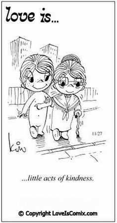 Love is... Comic for Wed, Nov 14, 2012
