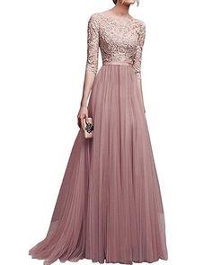 Evening Dress Long, Long Gown Dress, Evening Dresses Online, Cheap Evening Dresses, Long Summer Dresses, Tulle Dress, Lace Dress, Evening Party, Long Dresses