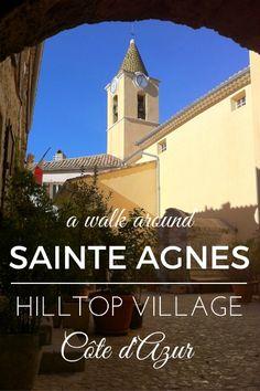 Sainte Agnès highest coastal village in Europe