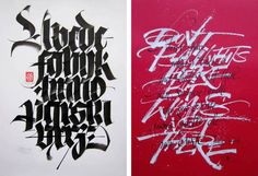 ARTSTÜBLI PRESENTS: LUCA BARCELLONA http://www.widewalls.ch/artstubli-presents-luca-barcellona-calligraphy-exhibition-basel-2015/ #exhibition #typography #basel