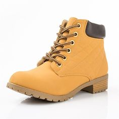 Women Ankle Tooling Boots