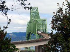 Astoria Bridge, Columbia River, Astoria, Oregon