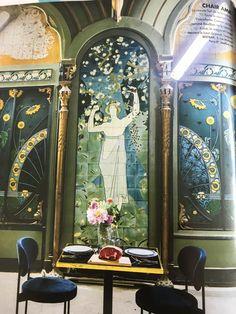 Resto Paris, Oversized Mirror, Painting, Home Decor, Art, Art Background, Decoration Home, Room Decor, Painting Art