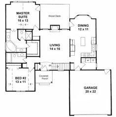 Plan # 1287 - American Design Gallery