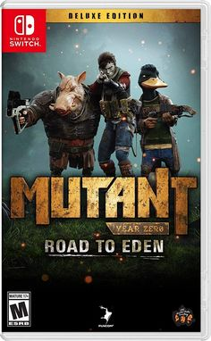 Buy Mutant Year Zero: Road to Eden Deluxe Edition on Xbox One at Mighty Ape NZ. Mutant Year Zero: Road to Eden Deluxe Edition includes a new expansion DLC adding hours of more gameplay and story, a new character, and new locations. Jeux Xbox One, Xbox 1, Playstation 5, Xbox One Games, Mutant Year Zero, Camping Set Up, Talking Animals, Abandoned Cities, What Happened To Us