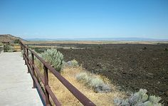 National Monument is the result of volcanic eruptions from the Medicine Lake shield volcanoes.