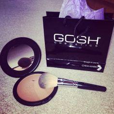 Gosh Giant Sun Powder Gosh Cosmetics Ireland Giant Sun Powder review now live on my blog www.eatsleepchic.co #bblogger #fblogger #lblogger #goshcosmetics #goshireland #sunshimmer #bronzer #giantsunpowder