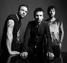 Muse, band, music, Chris Wolstenholme, Matt Bellamy, Dominic Howard
