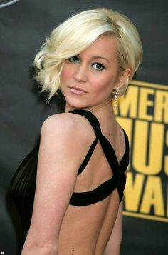 Latest Short Blonde Hairstyles | http://www.short-haircut.com/latest-short-blonde-hairstyles.html