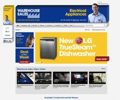 Looking for electrical appliances? Warehouse Sales: http://www.warehousesales.com.au/
