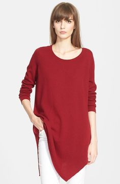 Joie 'Tambrel' Asymmetrical Sweater Tunic available at #Nordstrom