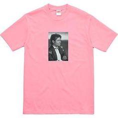 Supreme Michael Jackson Tee Coral Pink Size L SS17